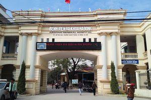 Bệnh nhân tím đen, tử vong sau ca mổ xương tay ở bệnh viện Đa khoa Hà Đông