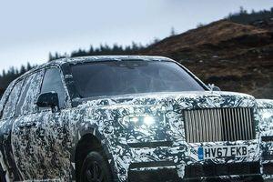 Điểm nhanh những 'đặc sản' của siêu SUV Rolls-Royce Cullinan ra mắt hôm nay