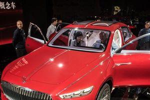 Mercedes-Maybach concept thách thức các tượng đài SUV hạng sang
