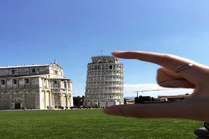 Tháp nghiêng Pisa - sự sáng tạo độc đáo của con người