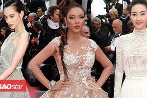 Thảm đỏ Cannes 2018 ngày 2: Lý Nhã Kỳ làm 'báo đen', Kiko Mizuhara và Vương Lệ Khôn xinh như nữ thần