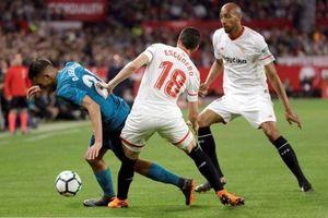 Real Madrid thua thảm Sevilla 2 - 3