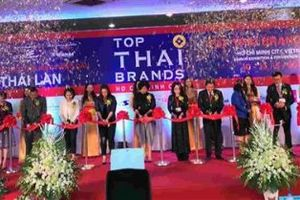 Khai mạc hội chợ triển lãm sản phẩm Thái Lan ở Việt Nam