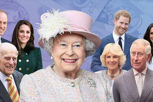 'Phát sốt' với độ giàu có của Nữ hoàng Elizabeth II và Hoàng gia Anh