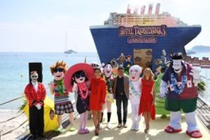 Dàn quái vật tinh nghịch của 'khách sạn huyền bí 3' đại náo festival Cannes