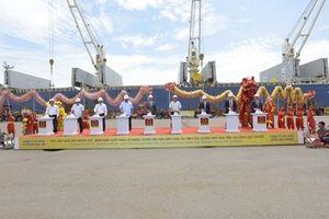Nhà máy Hoa Sen Nhơn Hội xuất khẩu 15.000 tấn tôn đến châu Âu