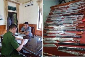 Nam Định: Bắt giữ nam thanh niên buôn bán vũ khí qua mạng xã hội