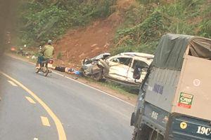 Xe tải mất phanh gây tai nạn liên hoàn làm 1 người chết, 3 người bị thương