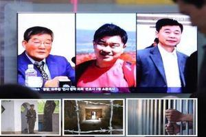 Ba tù nhân được Triều Tiên phóng thích nói gì?