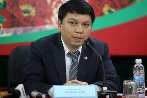 Ông Lê Hoài Anh nói gì về mâu thuẫn giữa VPF và Ban trọng tài VFF?