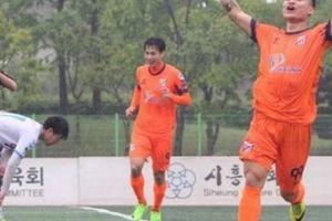 Cựu sao U23 Việt Nam lại tỏa sáng trên đất Hàn Quốc