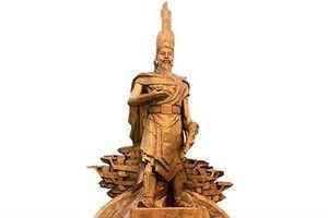 Mơ hồ tạo hình tượng đài Vua Hùng