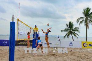 Nhật Bản vô địch Giải bóng chuyền bãi biển nữ thế giới Tuần Châu - Hạ Long mở rộng 2018