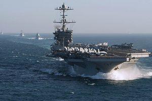 Tàu chiến Nga - Mỹ chơi 'mèo vờn chuột' trên Địa Trung Hải