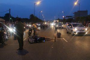 Va chạm giao thông, 1 phụ nữ bị xe của Đại học Nông Lâm cán tử xong