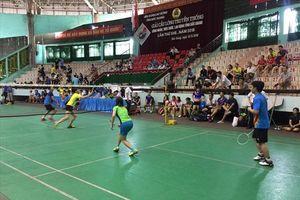 LĐLĐ tỉnh Bắc Giang: Giải Cầu lông truyền thống công nhân viên chức lao động