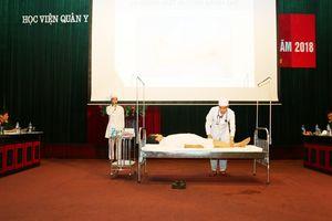 Học viện Quân y tổ chức Hội thao kỹ thuật khám lâm sàng