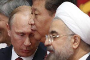 Trump đang đẩy Nga, Trung Quốc, Iran lại gần nhau hơn