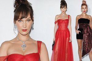 Nàng mẫu 9x Bella Hadid quyến rũ như đóa hồng nhung