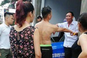 Đình chỉ tài xế taxi Sông Lam say rượu, lái xe lạng lách trên phố