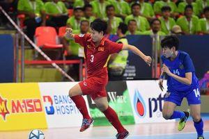 Đội tuyển futsal nữ Việt Nam thua cay đắng Thái Lan trên chấm 11m