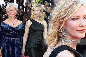 Thảm đỏ Cannes 2018 ngày 5: Cate Blanchett, Helen Mirren sang chảnh làm lu mờ hết 'hội chị em bạn dì'