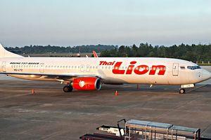 Động cơ nổ, máy bay Thai Lion hạ cánh khẩn cấp