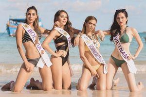 Dàn mỹ nhân gợi cảm khó cưỡng với bikini tại Nữ hoàng Du lịch Quốc tế 2018