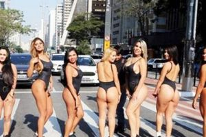 Hoa hậu Siêu vòng 3 Brazil 2018 mới vào guồng đã loạn