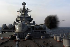 Ngắm chiến hạm Nga nã đạn, bắn tên lửa thị uy trên biển Nhật Bản