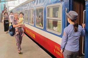 Đường sắt chạy thêm nhiều đôi tàu trong dịp hè 2018