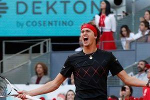 Thua tâm phục Zverev, Dominic Thiem lần thứ hai liên tiếp về nhì ở Madrid Open