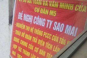 Chuyện lạ: Chung cư của doanh nghiệp trực thuộc Thành ủy cũng vi phạm nghiêm trọng quy định về PCCC