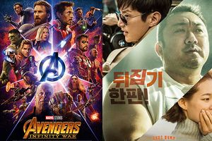 Chưa phim nào vượt được 'Avengers: Infinity War' tại phòng vé Hàn Quốc trong 3 tuần qua