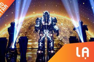 'Transformer' thi ca hát tại Tìm kiếm tài năng nước Anh
