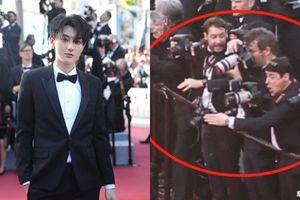 Tài tử 'Tây du ký' Hoàng Tử Thao bị xua đuổi trên thảm đỏ Cannes