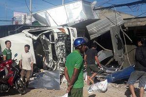 Cận cảnh hiện trường đổ nát vụ xe tải 'điên' gây tai nạn kinh hoàng