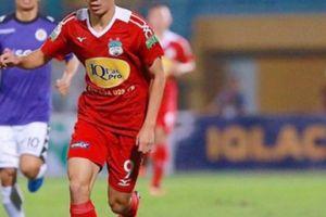 CLIP: Văn Toàn vượt qua 2 cầu thủ Hà Nội FC, ghi bàn đẹp mắt
