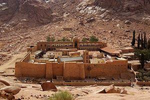 Vẻ đẹp tráng lệ của tu viện Saint Catherine nổi tiếng Ai Cập