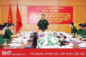 BĐBP Hà Tĩnh đề ra 6 nhiệm vụ trọng tâm nâng cao sức chiến đấu tổ chức Đảng