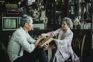 Bộ ảnh cưới độc đáo 'Khi ta về già'