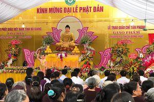Hà Giang: Kính mừng Đại lễ Phật đản Phật lịch 2018