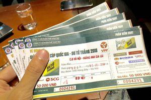 Lượt về Tứ kết Cúp Quốc gia: Giá vé trận Hà Nội - HAGL tăng chóng mặt
