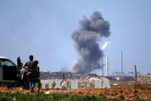 Israel không kích các mục tiêu Hamas