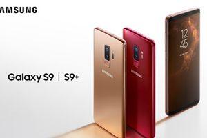 Samsung chính thức phát hành Galaxy S9 màu vàng và đỏ
