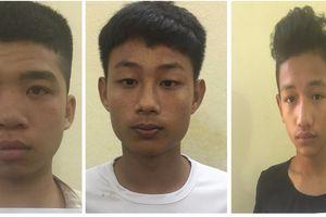 Quảng Ninh: Bắt gọn băng cướp 'nhí'