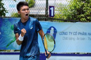 Quật ngã hạt giống số 2, Trịnh Linh Giang vào tứ kết quần vợt nhà nghề Việt Nam F3 Futures