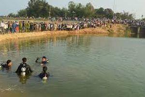 2 nam sinh chết đuối thương tâm khi tắm sông