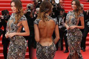 Nabilla Benattia sexy nổi bật, hôn say đắm bạn trai ở thảm đỏ Cannes