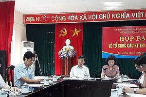 Thanh Hóa: Họp báo nóng thi THPT Quốc gia